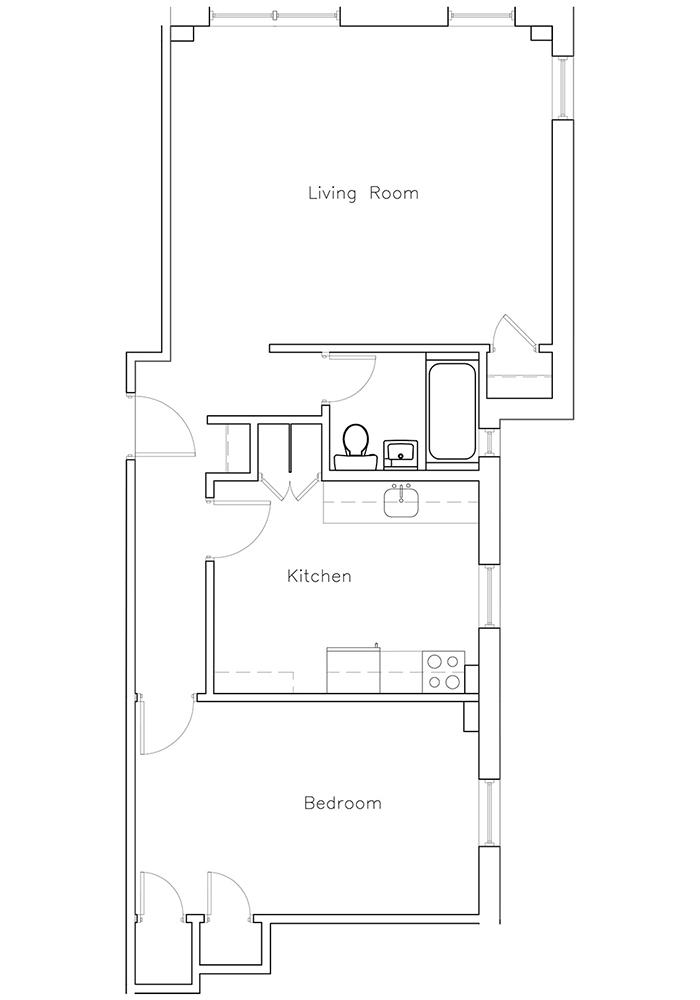 1 Bedroom Suite #17