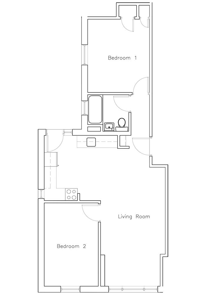 2 Bedroom Suite #6