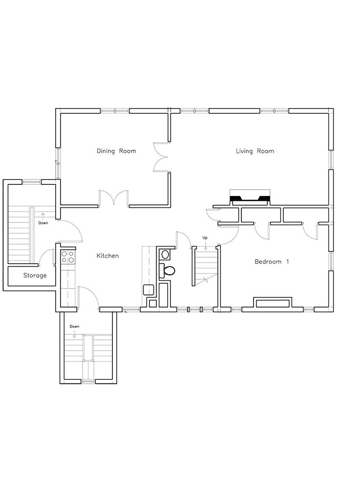 Duplex - 2nd and 3rd Floor